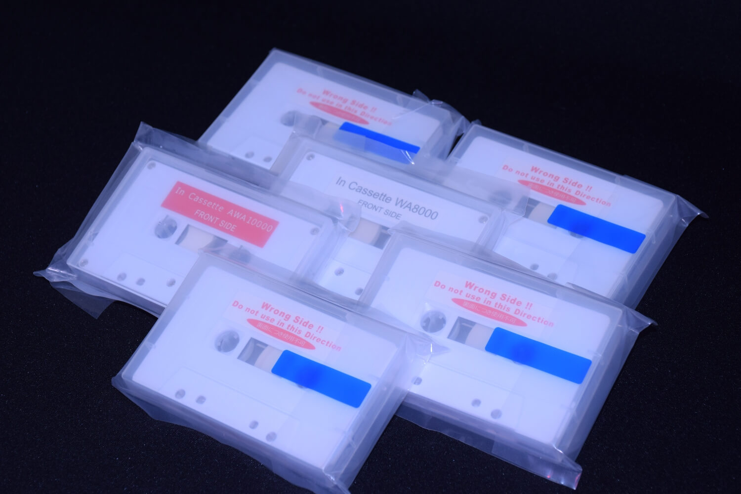 In-Cassette Type Color Filter Repair Tape